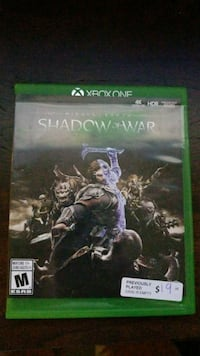 Shadow of War Xbox One Guelph, N1L 0C2