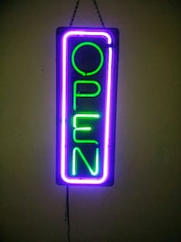Electric Open Sign.....