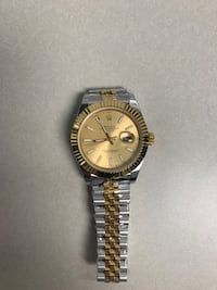 Gold and silver watch: not for free