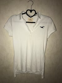 vit Hollister polo shirt Sjöbo, 275 31
