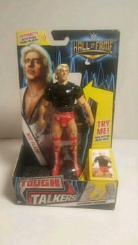 WWE Hall of Fame Tough Talkers  RIC FLAIR Action  Long Beach, 90810