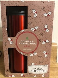 new sweatcoin coffee travel mug  (coffee Not Included pick up only)