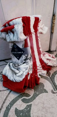 women's red and white traditional dress Los Angeles, 90011