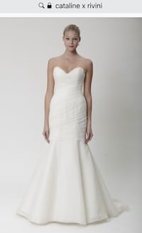 Rivini Mermaid Wedding Dress Edmonton, T5A 2C3