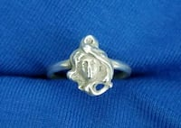 925 Sterling Silver Ring Size 5.5 Dover