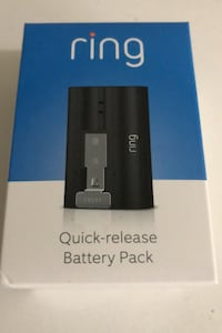 Ring Quick Release Battery Pack for Video Doorbell 2 and Stick Up Cam Markham, L3P 3B4