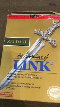 The legend of zelda game and game Toronto