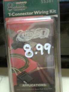 Used, T-Connector Wiring Kit (Dodge) for sale  Navarre, FL