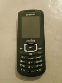 black Samsung Cricket candy bar phone Salt Lake City, 84118