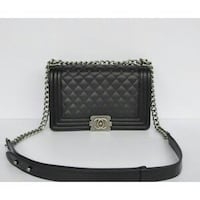 Borsa Chanel Boy Flap Nera