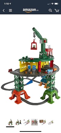 Fisher-Price Thomas & Friends Super Station Playset Trai  Toronto, M3K 1H5