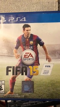 FIFA 15 case PS4 Edmonton, T6X 1Z5