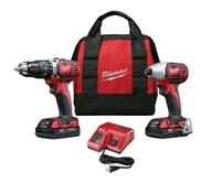 *** BRAND NEW*** MILWAUKEE M18  HAMMER & IMPACT DRILL COMBO Maple, L6A