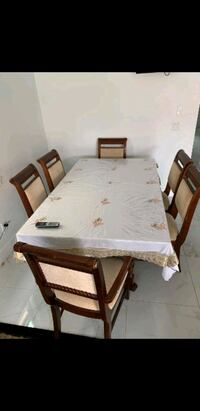6 Chair Dining Table Set Surrey, V3S 4G3