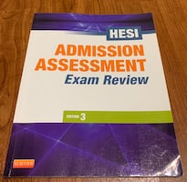 HESI Testing prepping book