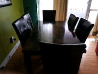 Dinning table with 6 chairs Toronto, M1P 4V9