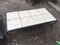 Tile outdoor table Austin, 78752