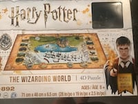 Brand new 4D Harry Potter puzzle. Pieces still in packages. Toronto, M1H 0A2