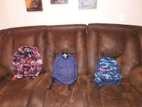 BRAND NEW BACKPACKS- ALL still have TAGS on.