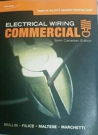 Electrical Wiring Commercial 6th Canadian Edition Brampton, L6V 1P8