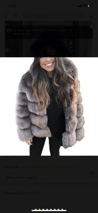 Cold weather days Fur Jacket
