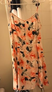 white, red, and blue floral sleeveless dress London, N5W 0A6