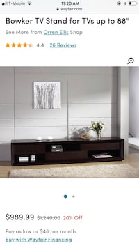 Bowker TV Stand (TV stand up to 88in) Springfield, 22152