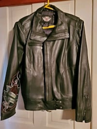Leather ladies harley Davidson leather jacket  size  1w Hagerstown, 21740