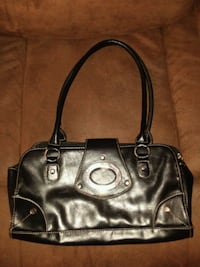 Black Leather Tote Perfectly Fine Monroe County