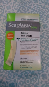 ScarAway long - silicon strips - unopened