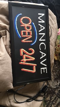 Man Cave sign  621 km