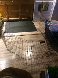 8 panel Adjustable dog pen/cage with door  Calgary, T2C 1Z1
