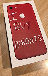Product Red iPhone 7 plus box Hagerstown