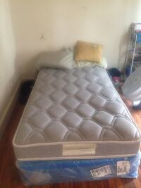 Serta by Ashley twin boxspring and mattress still new Schenectady, 12304