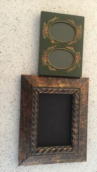 two green and brown photo frames Halifax, B3K 1Z9