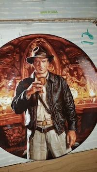 Indiana Jones and the last crusade Collector Plates