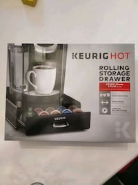 Keurig rolling storage drawer 540 km