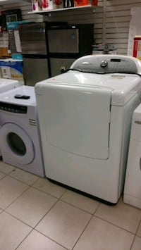 white front-load clothes dryer Barrie, L4N 6L9