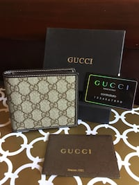 Beautiful Golden Brown Gucci Wallet in Box Mississauga, L4Z 3M4