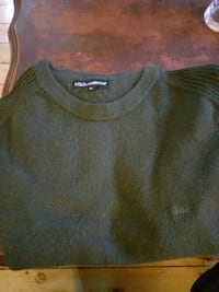 Dolce answer gabana XL green sweater Ottawa, K1S 2P3