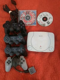 PlayStation PS One mini with controllers a games Rockville, 20854