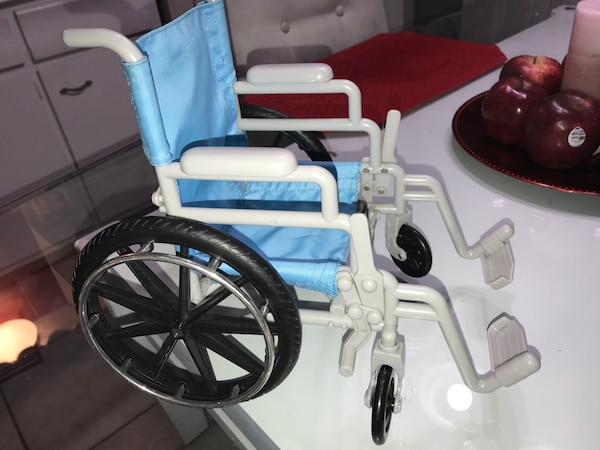 American Doll bed wheelchair clothes ect