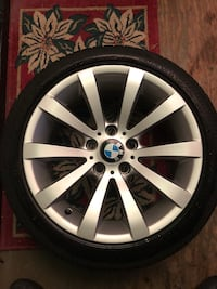 Bmw wheels and tires (almost new) Maple Ridge, V4R 2V1