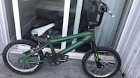Green and black bmx bike Winnipeg, R2X 2K1