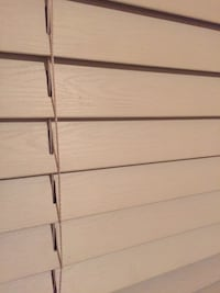 White faux wood window blinds Vaughan, L4H 2A2