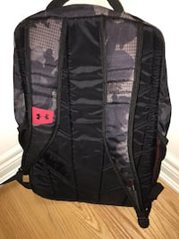 black and red Under Armour backpack Newmarket, L3Y 0A7