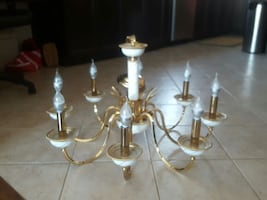 FABBIAN GOLD PLATED CHANDELIER