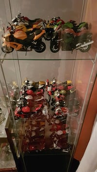 Diecast collection of motorcycles