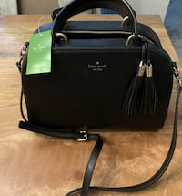 Black kate spade leather 2-way bag Oxford, 36203