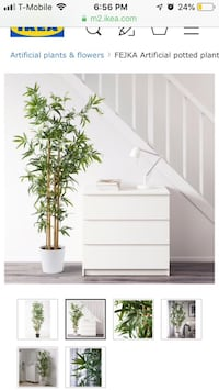 Artificial IKEA ficus tree perfect condition  Laurel, 20723